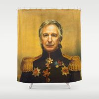 Shower Curtains by Replaceface | Society6