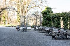 Bio-Schlosshotel Wartegg im Tadah Familientest. Das Hotel, Outdoor Furniture Sets, Outdoor Decor, Wedding, Open Window, Valentines Day Weddings, Weddings, Marriage, Chartreuse Wedding