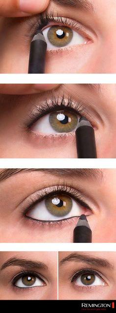 Dale fuerza a tu mirada y luce bellísima con este DIY que remarcará tus ojos a la perefección. #DIY #eyes #makeup #eyeliner #woman