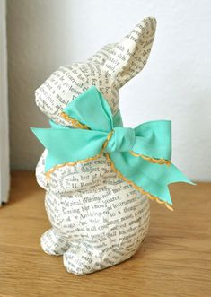I would do this with pages from the Velveteen Rabbit.