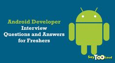 Top Android Developer Interview Questions and Answers Interview Questions And Answers, Android Developer, Question And Answer, Getting To Know, Sayings, Tips, Blog, Lyrics, Blogging