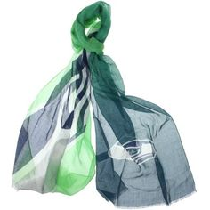 Seattle Seahawks Ladies Gradient Scarf - Neon Green/College Navy     NEED this. . .can still be in dress code at work, and show the love!