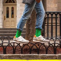 How will you be celebrating the luck of the Irish this St. Patrick's Day? #Sheec #StPatricksDay #Socks #LuckyClover #shamrock #NYC
