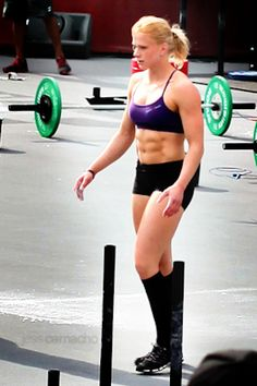 Annie Thorisdottir the person from that Reebok sneaker commercial
