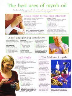 The best uses of myrrh oil