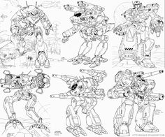 battletech argus battlemech grand titan inner sphere mecha wraith ★ || CHARACTER DESIGN REFERENCES | マンガの描き方 • Find more artworks at https://www.facebook.com/CharacterDesignReferences http://www.pinterest.com/characterdesigh and learn how to draw: #concept #art #animation #anime #comics || ★