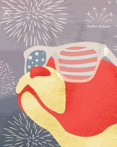 Have a safe and Happy 4th of July. Don't forget most pets don't like fireworks like we do. Keep them inside in a quiet and secure room if possible. . . . #realtor  #realestate #july4th #loudnoises #fireworks #independenceday #holiday #chesapeake #vabeachrealtor #organization #dog #cat #chesapeakerealtor #moyock #americanflag #inde #merica # #va #ca #nc #california
