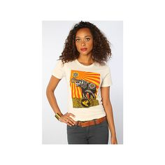 Obey The Peace Elephant Classic Crew Tee ($29) ❤ liked on Polyvore