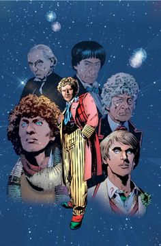 Doctor Who Classics Cover