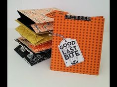 Old Fashioned Paper Bag for Halloween in August (Stampin Up)