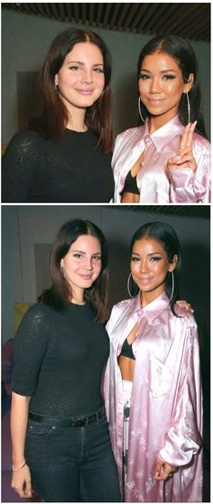 Sept.28, 2017: Lana Del Rey and Jhené Aiko at Jhené's party in Los Angeles #LDR