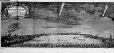 Comète observée à Hambourg en 1665 (S. de Lubienieski, Theatrum cometicum, 1681