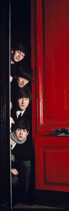 The Beatles,  London, 1964 by Jean-Marie Perier by DM's Ringo Starr, George Harrison, Paul Mccartney, John Lennon, Abbey Road, Great Bands, Cool Bands, Music Rock, El Rock And Roll