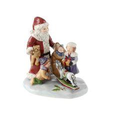 Villeroy & Boch hračky Village Mikuláš s dětmi