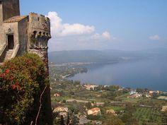 Lake Bracciano, north of Rome