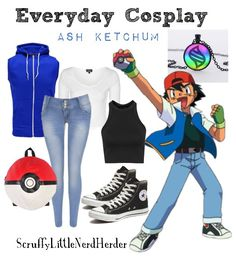 Everyday Cosplay: Ash Ketchum (Pokemon)