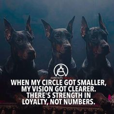 When my circle got smaller, my vision got clearer. There's strength in loyalty, not numbers.