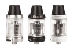 New Arrival - Innokin SCION Sub Ohm Tank features 3.ml juice capacity and top refill,510 spring loaded connector and adjustable airflow system. The SCION Sub Ohm Tank is specially designed for vapers seeking terrific flavor AND deep, rich clouds.