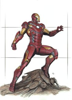 Iron Man 3 movie design by Adi Granov