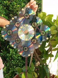 Recycle Your Cds ∙ Creation by Alf on Cut Out + Keep