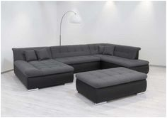 Home Design Inspirations Sofa Bed Design, Furniture Design, Sofa U Form, Classic House Design, Leather Sectional Sofas, Modern Couch, Modular Sofa, Lounge Areas, Living Room Sofa