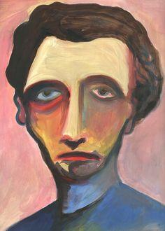 jesper_waldersten Arte Indie, Oil Pastel Art, Funky Art, Expressive Art, Arte Horror, Hippie Art, Weird Art, Psychedelic Art, Portrait Art