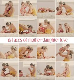 16 Faces of Mother Daughter Love by @Matty Chuah Art of Making a Baby