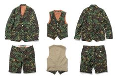 CAMO ALL DAY -THE CONTEMPORARY FIX x SWAGGER 2012 Fall/Winter Dot Camo Collection | Hypebeast