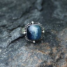 Gypsy Kyanite Power Ring