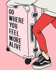 go where you feel more alive travel inspo inspirational quote Cute Quotes, Words Quotes, Sayings, Job Quotes, Career Quotes, Daily Quotes, Relationship Quotes, Funny Quotes, The Words