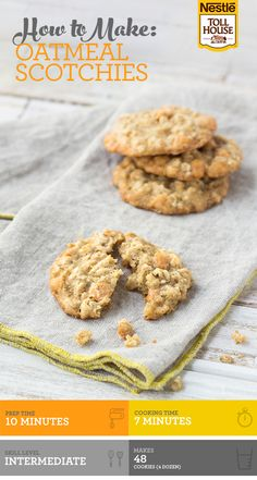 Butterscotch chips + oatmeal = delicious Oatmeal Scotchies. It's those two ingredients that make these cookies special! These unique cookies are sure to be a crowd favorite this holiday season.