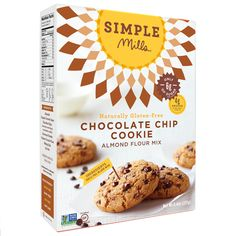 Chocolate Chip Cookie Mix @thehealthyapple @simplemills