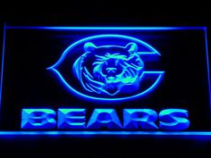 Chicago Bears LED sign only $21.99 and free shipping. Buy Now!!-----> http://ledsignlights.com/product/chicago-bears-led-neon-sign-light-nfl/  FREE SHIPPING anywhere!!!!      Excellent for displaying in your shop, bar, pub, club, restaurant, room for a birthday, graduation, wedding, anniversary etc.. and anywhere you like?    Approximate size: W: 300mm x H: 200mm.
