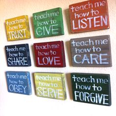 #Trust #Love #Listen #Share #Forgive #Care