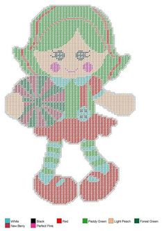 Doll set 3 Plastic Canvas Christmas, Plastic Canvas Crafts, Plastic Canvas Patterns, Sewing Dolls, Canvas Paper, Cute Dolls, Paper Dolls, Cross Stitch Patterns, Wall Hangings