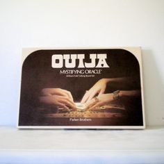 A brand new original factory sealed Ouija Board by Parker Brothers made in It is perfect for anyone who wanted the vintage look without the prior owners spirits connected to the board! Vintage Games, Vintage Toys, Retro Toys, Words To Spell, Halloween Sale, Ouija, Slumber Parties, Do You Remember, Childhood Memories