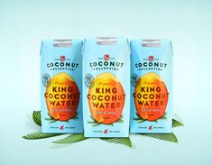 The Coconut Collective by Marx Design, New Zealand. #branding #packaging