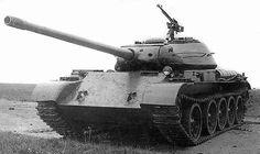 T-54 prototype with ŁB-1 100 mm gun (Ławrientij Beria)