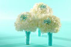 simple centerpieces hydrangeas tiffany blue | Botanical Art - Dallas, Tx Wedding Flower Arrangements and Custom ...