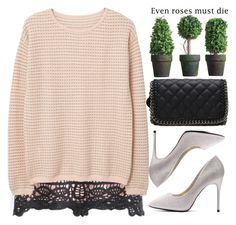"""""""Going out!"""" by amilla-top ❤ liked on Polyvore featuring MANGO"""