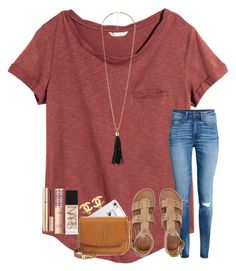 """""""Friday night lights"""" by ctrygrl1999 on Polyvore featuring H&M, LifeProof, Tory Burch, Billabong, Charlotte Russe, Chanel, Dolce&Gabbana, tarte and NARS Cosmetics"""