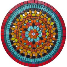 Mosaic Table Top Designs