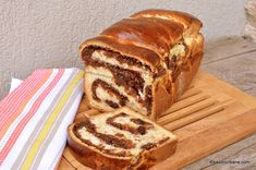 Sweets Recipes, Bread Recipes, Desserts, Babka Recipe, Loaf Cake, Sourdough Bread, Food And Drink, Homemade, Baking