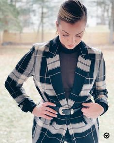This Women's Plaid B