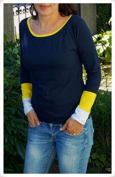 ....für den Herbst muß ich ganz dringend und zwar für mich selbst. Gebraucht werden alltagstaugliche Longsleeve - Shirts ohne viel Schnicksc...