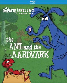 The Pink Panther Show - April Date for 'Inspector,' 'Crazylegs Crane,' 'The Ant/and The Aardvark' on DVD, Blue.