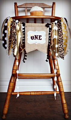 Where The Wild Things Are Inspired Birthday Age High Chair Highchair Birthday Banner/Photo Prop/Backdrop/Cake Smash/Chair Banner/Max Banner