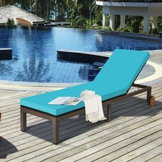 The rattan lounge chair is made of high quality PE rattan and metal frame, holding up to 375 lbs. And the adjustable backrest in 5 tilting positions satisfies your different needs to reading, lying and sleeping. The cushions that cover the entire chair provide a comfortable seating experience. This lounge chair is ideal for balconies, beaches and pools so you can enjoy fresh air anywhere. When you're done with rest, you can easily move it elsewhere with the bottom wheels.