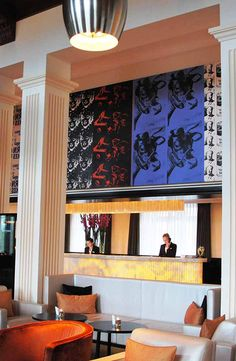 Art Front Office  The Dolder Grand vossy.com