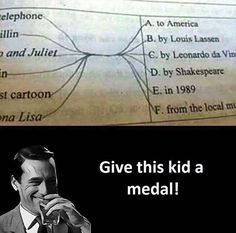 Give This Kid a Medal